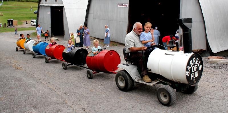 Barrels of Fun Ride