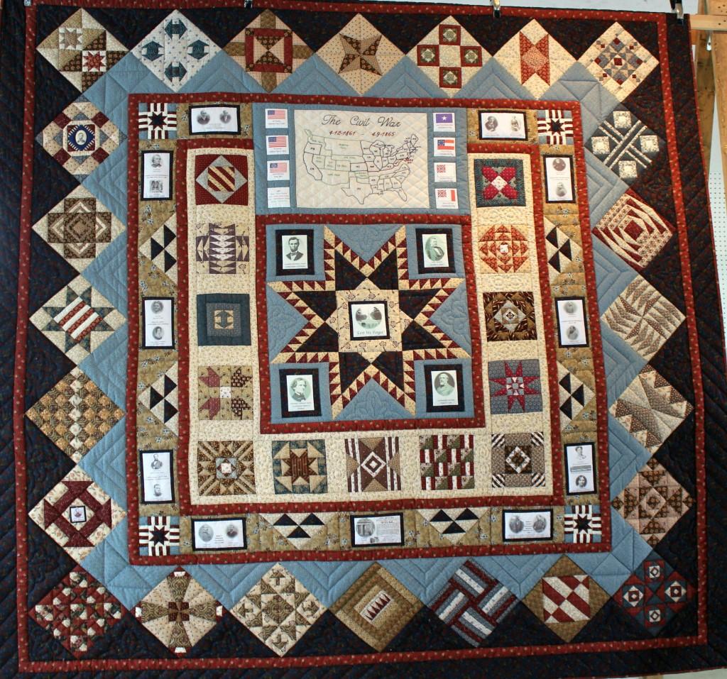 Quilt Block Patterns In Public Domain : Lest We Forget A Civil War Quilt Country Fest & Auction
